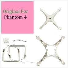 Dji phontom 4 하우징 수리 부품 용 100% 오리지널 팬텀 4 바디 쉘 상단 하단 셸 랜딩 기어