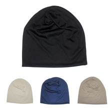 Hombres otoño knit sombrero fino color hip hop frijol tapa de las mujeres  gorro feminino turbante de moda gorros mujer invierno d0fc311384e