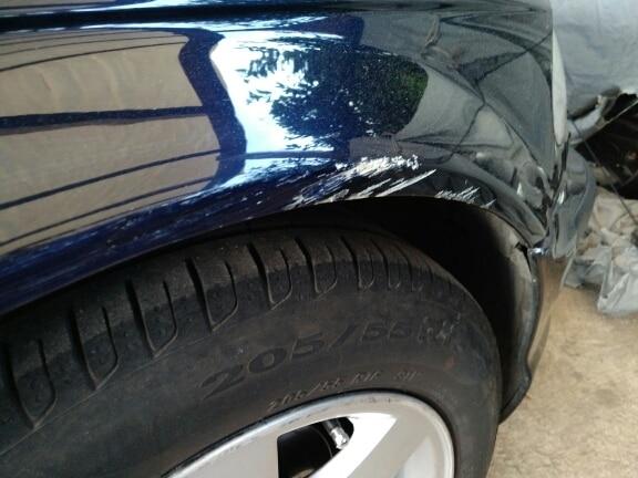 reparar pintura coche