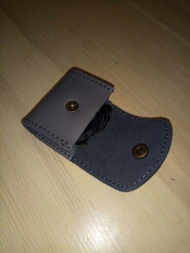 Vintage Coin Bag Man Vrouwen Lederen Handgemaakte Mode 2019 Portemonnees Portemonnee Hoofdtelefoon Sleutelhouder Pocket Bag Case photo review