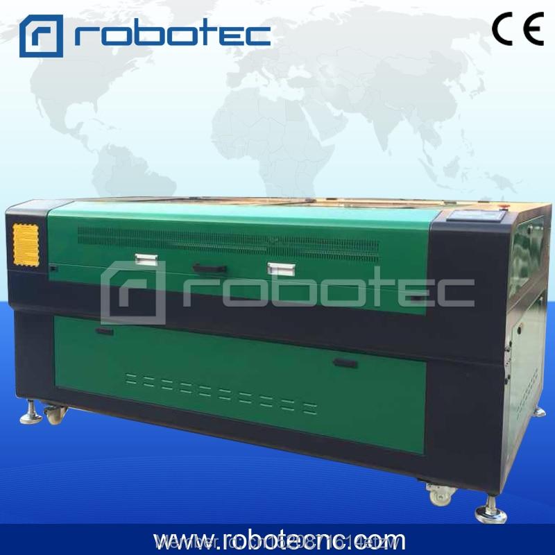 Jinan ROBOTEC 80w 100w Cnc 1610 1390 1325 Laser Cutting Machine Acrylic Co2 Laser Engraver