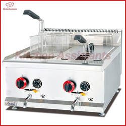 GH585 8L/бак газа столешницей commerical сочетание Фрайер духовка для чипсов курица