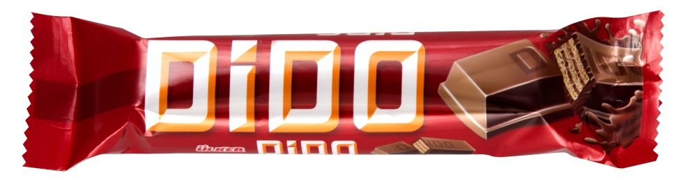 ULKER Dido Milk Chocolate Covered Wafer Frame 35 Gr * 24 Pieces()
