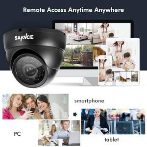 Image 5 - SANNCE 900TVL 3.6mm אנלוגי כיפת מצלמה ראיית לילה מקורה חיצוני עמיד IP66 IR מסנן אבטחת CCTV מערכת מצלמה