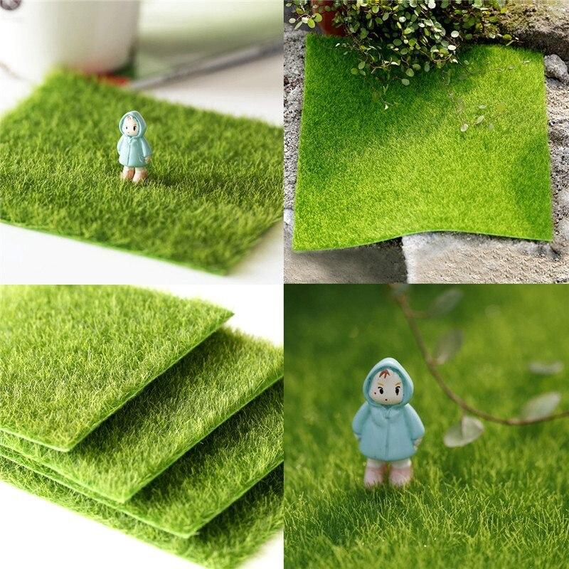 30cm Artificial Faux Garden Turf Grass Lawn Moss