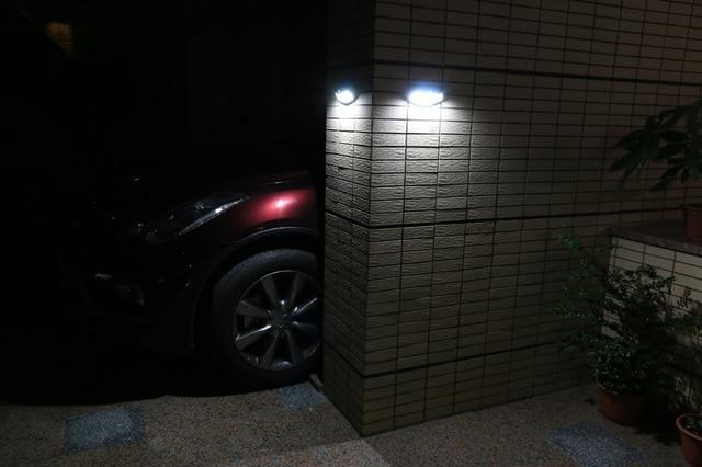 LED Solar Power Sensor Wall Light Outdoor Waterproof Energy Saving Street Yard Path Home Garden Security Lamp Light Sensor