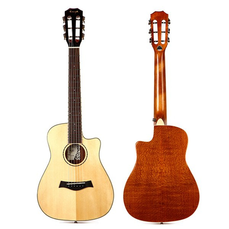 Hot Sell Enya 32 Inch 3A Solid Engelmann Spruce Panel Uguitar with Gig Bag UGT-03 Stringed Instruments Guitar for Music Lovers кошелек женский roxy write a song spruce yellow