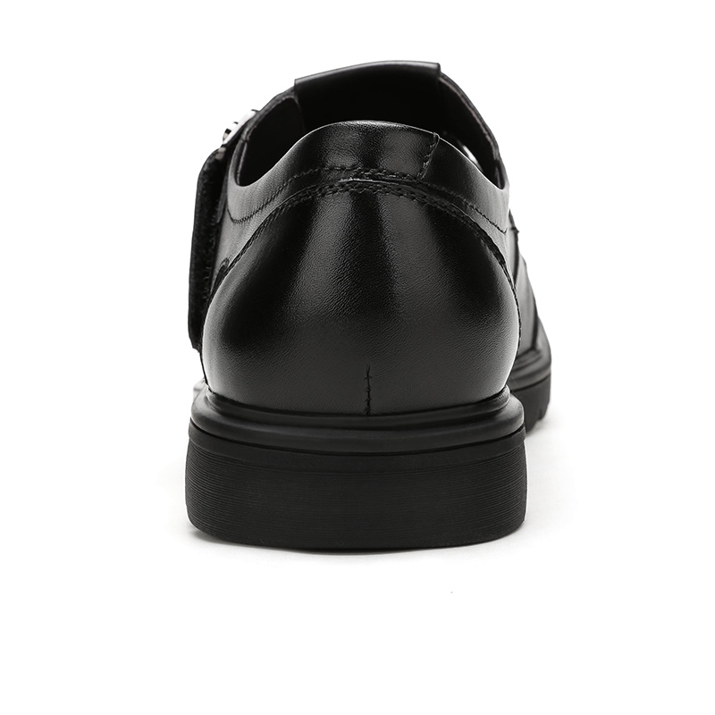 CAMEL Summer Retro Men Business Casual Sandals Genuine Leather Breathable Comfortable Fashion Men's Dad Shoes Velcro Men Shoes