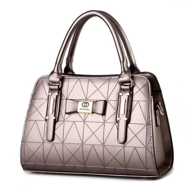 Women Handbag PU Leather Shoulder Bags Lady Large Capacity Crossbody Office Hand Bag 1