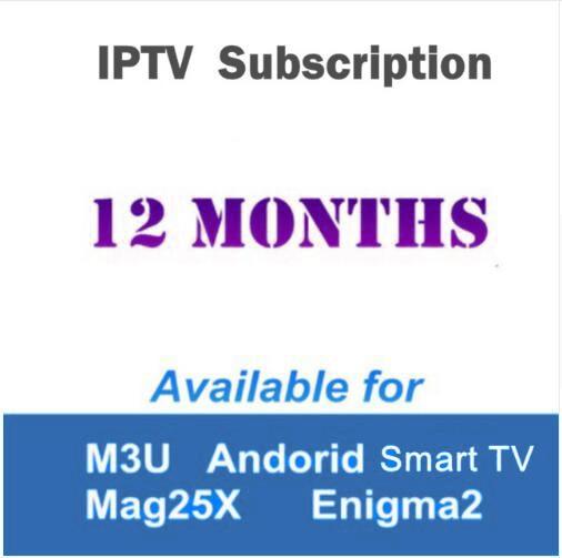 US $10 68 |GTmedia 1 Year Arabic Italia France Africa Spain Europe iptv  subscription support Enigma2 android tv box smart tv iptv m3u-in Satellite  TV