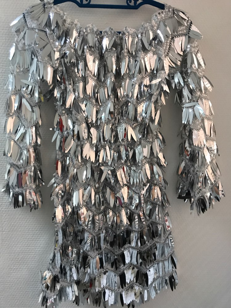 'Start The Show' Festival Sequin Dress photo review