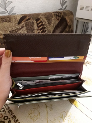 Women Wallet Luxury Brand Genuine Leather Long Female Clutch Wallet High Capacity Ladies Purse Design Money Bag For Dollar Price photo review