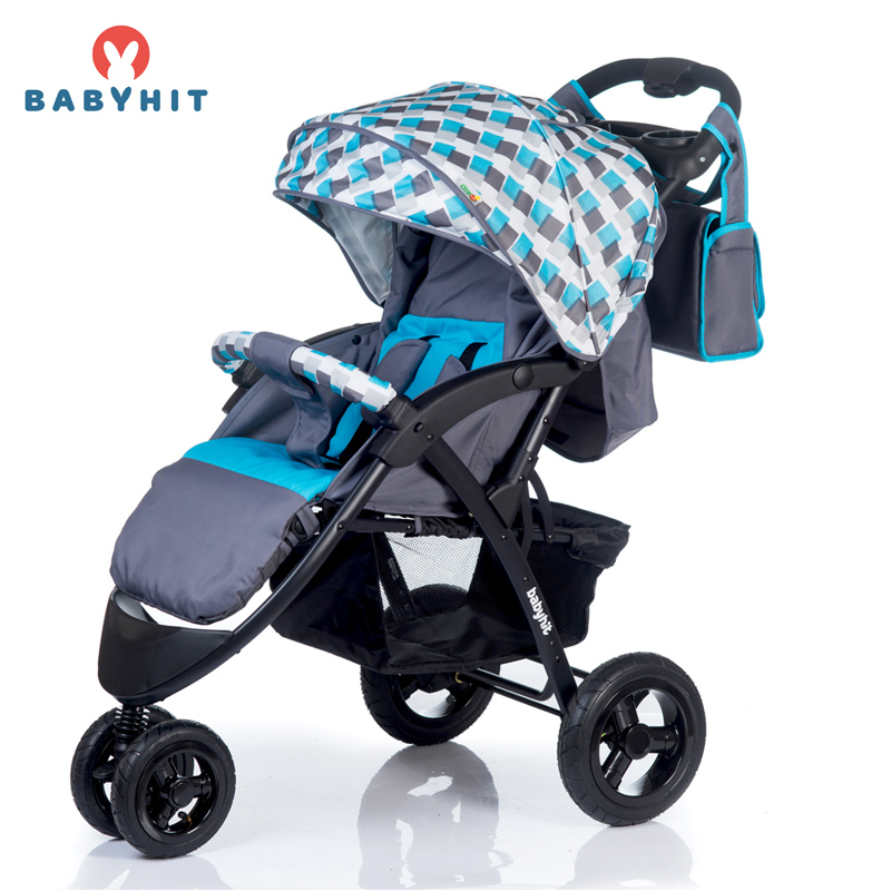 Three Wheels Stroller BabyHit VOYAGE AIR Kidstravel four wheels stroller babyhit travel air kidstravel