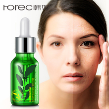 ROREC Moisturizing Green Tea Seed Extract  Face Serum Facial Essence Whitening for Face Repair Skin Care Anti Wrinkle Anti-aging bioaqua blueberry wonder essence for face skin care effect plant extract anti wrinkle facial serum sodium hyaluronate serum