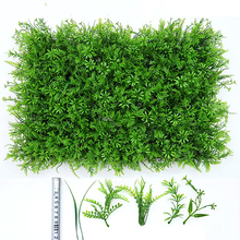 40x60cm Artificial Landscape Turf Simulation Plants Fake Lawn Landscaping Wall grass mat green artificial lawns for Wedding Xmas