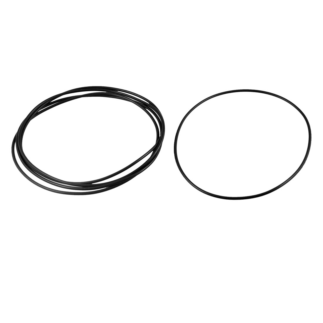 Uxcell 5 Pcs 2 6mm Rubber Sealing Oil Filter O Rings Gaskets Id