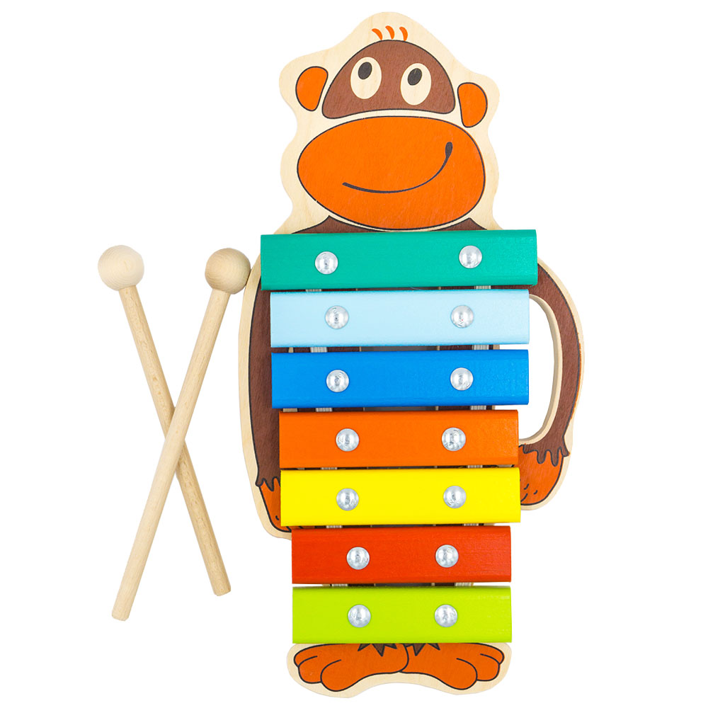Toy Musical Instrument Alatoys KC0703 play glockenspiel xylophone music toys for boys girls sassy seat doorway jumper 5 toys with musical play mat