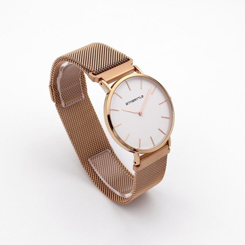 Quartz Πολυτελή Μάρκα Rose Χρυσό ματιών - Γυναικεία ρολόγια - Φωτογραφία 4