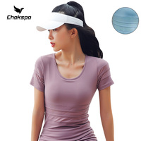 Chokspo New Women Yoga Shirts T Shirt Sport Femme Sport Tops For Women Fitness Sports and leisure Women Gym Top For Running Yoga