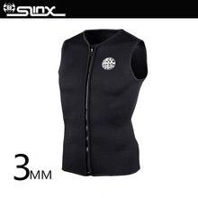 Slinx 3mm Neoprene Wetsuit Vest Warm vest Men and Women For Kitesurfing Suit Diving Swimsuit Swimwear None Sleeve Inside mares vest flexa 5 3mm man