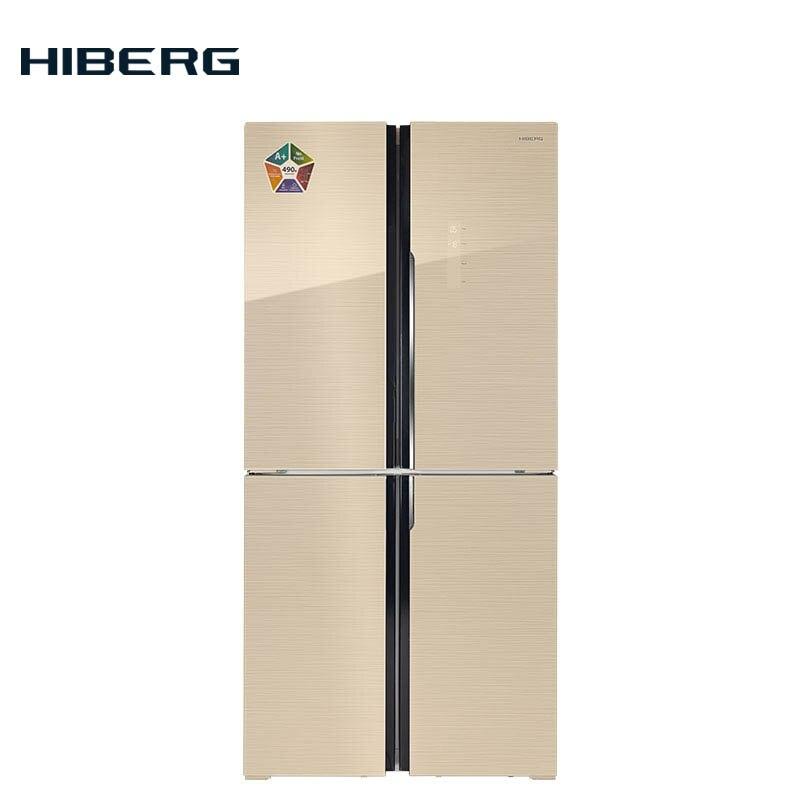 лучшая цена 4-door refrigerator HIBERG RFQ-490DX NFGY