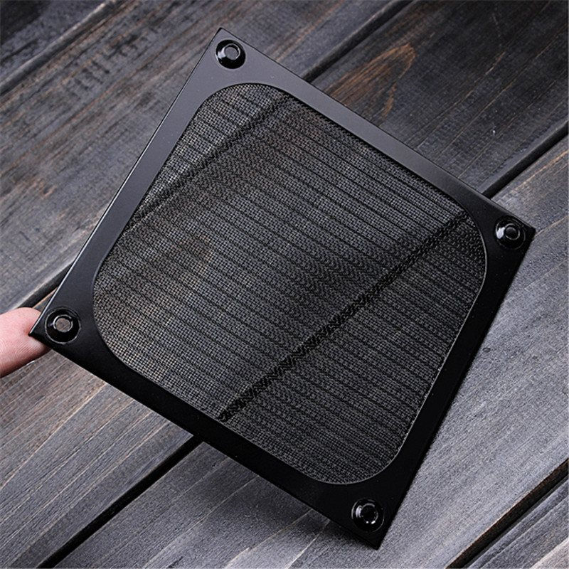 High Quality 120mm Computer Fan Cooling Dustproof DustFilter Shield Case Aluminum Grill Guard
