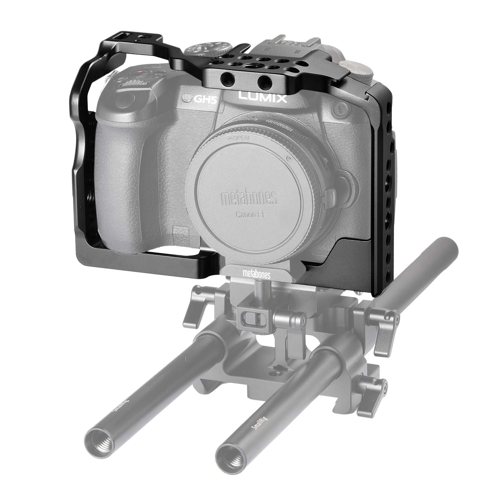 SmallRig Cage for Panasonic Lumix GH5 2049 Video Stabalization Camera Protection panasonic lumix gh5