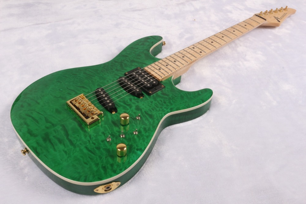 US $299 0 |New Tom Anderson Angel Bora Green grass Eelctric Guitar-in  Guitar from Sports & Entertainment on Aliexpress com | Alibaba Group