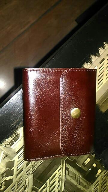 ALAVCHNV handgemaakte koeienhuid mini portemonnee mannen en vrouwen lederen retro kaart tas rits kleine portemonnee HYMN1050915 photo review