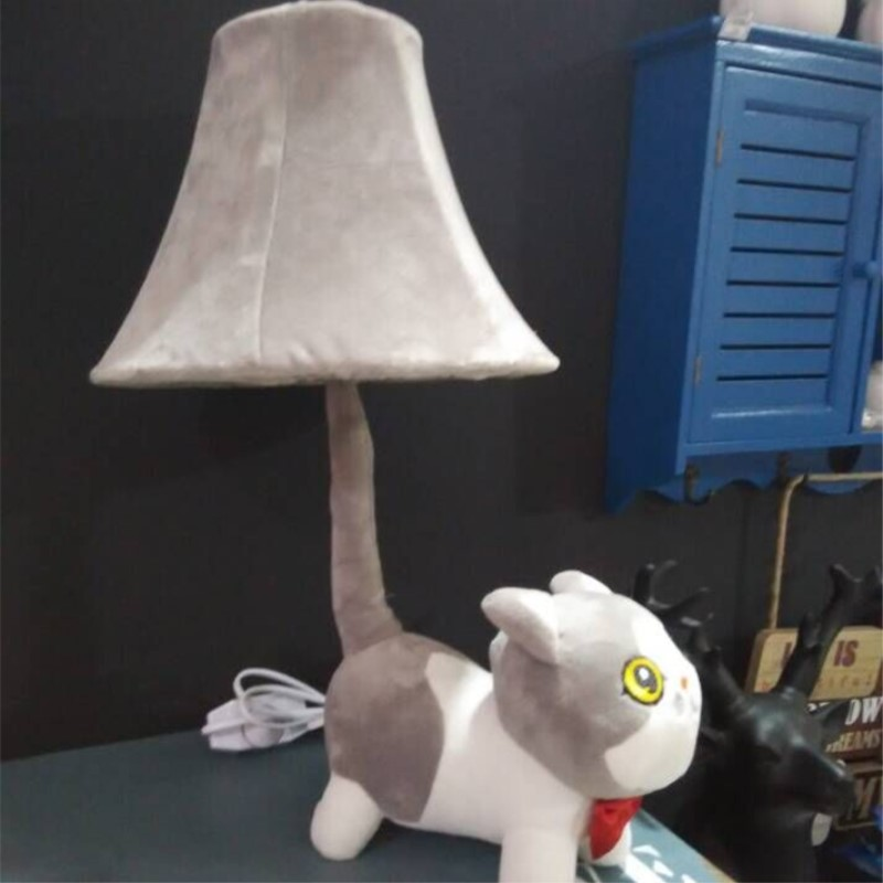 Modern Creative Cartoon Cat Art Fashion Loveliness Table Lamp Cafe Restaurant Bedroom Baby room Decoration Lamp Free Shipping tuda 24x49cm free shipping fashion creative table lamp resin rabbit shaped table lamp living room decoration modern table lamp