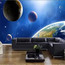 Высокая четкость Вселенная планеты 3d звезда фон настенная живопись