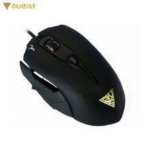 Оптическая игровая мышь GAMDIAS HADES оптический черный ПК ESPORTS FPS MOBA