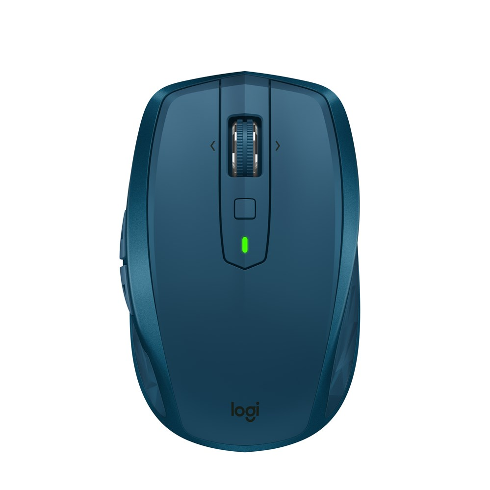 Souris d'ordinateur portable Logitech MX partout 2 S sans fil à droite souris d'ordinateur de jeu Bluetooth RF 4000 DPI 106g souris de jeu bleue