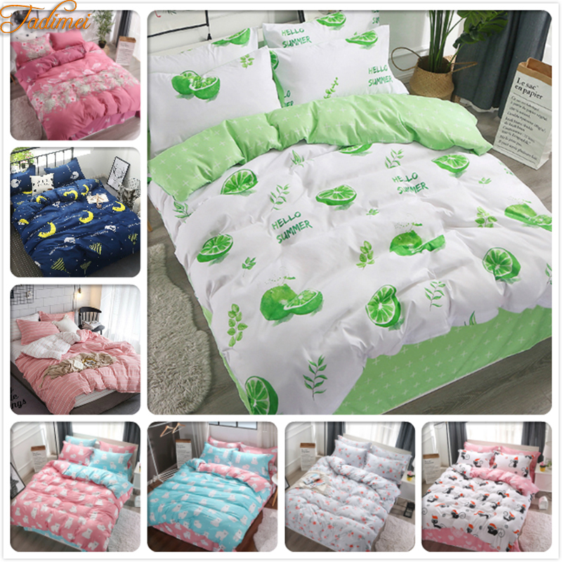 Light Green Duvet Cover 3/4 pcs Bedding Sets Adult Kids Child Soft Cotton Bed Linens Single Twin Queen king Size 150x200 220x240Light Green Duvet Cover 3/4 pcs Bedding Sets Adult Kids Child Soft Cotton Bed Linens Single Twin Queen king Size 150x200 220x240