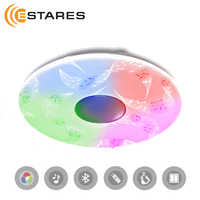 Controllable LED ceiling light a-play 60W RGB R-530-SHINY-220V-IP20 with music and control by smartphone Estares
