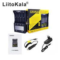 LiitoKala Lii-500S batterie chargeur 18650 chargeur Pour 18650 26650 21700 AA piles AAA Tester la capacité de la batterie de contrôle Tactile