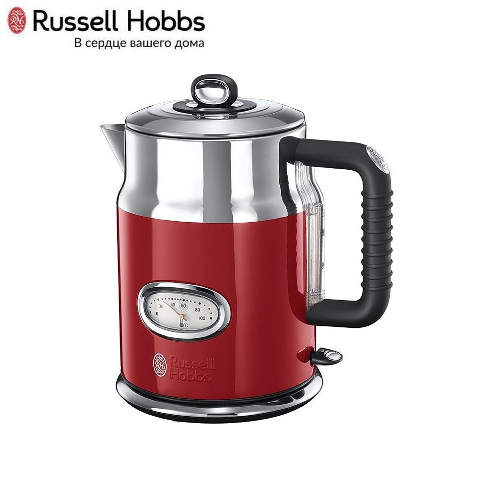 Electric Kettle Russell Hobbs 21670-70 Kettle Electric Electric kettles home kitchen appliances kettle make tea Thermo цена