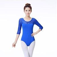 Hot Sale Fashion Ballet Leotard Women Ballet Costumes Gymnastics Leotard Girls Dancewear Ladies Dance Bodysuit