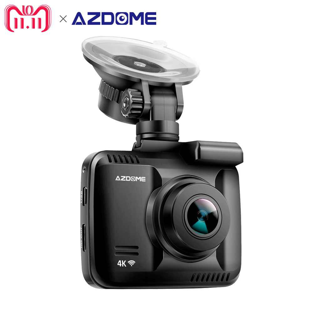 Azdome GS63H NOVATEK 96660 Car Dash Cam 4K 2880 x 2160P Dash Camera Built in GPS DVR Recorder Camcorder With WiFi Loop Recording