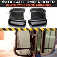 Накладки на зеркала, чехол для Fiat Ducato 2006-2013/-, большой стиль, ABS пластик, литье, украшение, тюнинг автомобиля