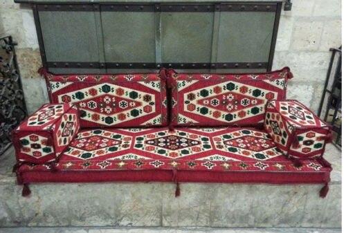 Мезопотамианский диван восточный угол набор Подушка кальян диван