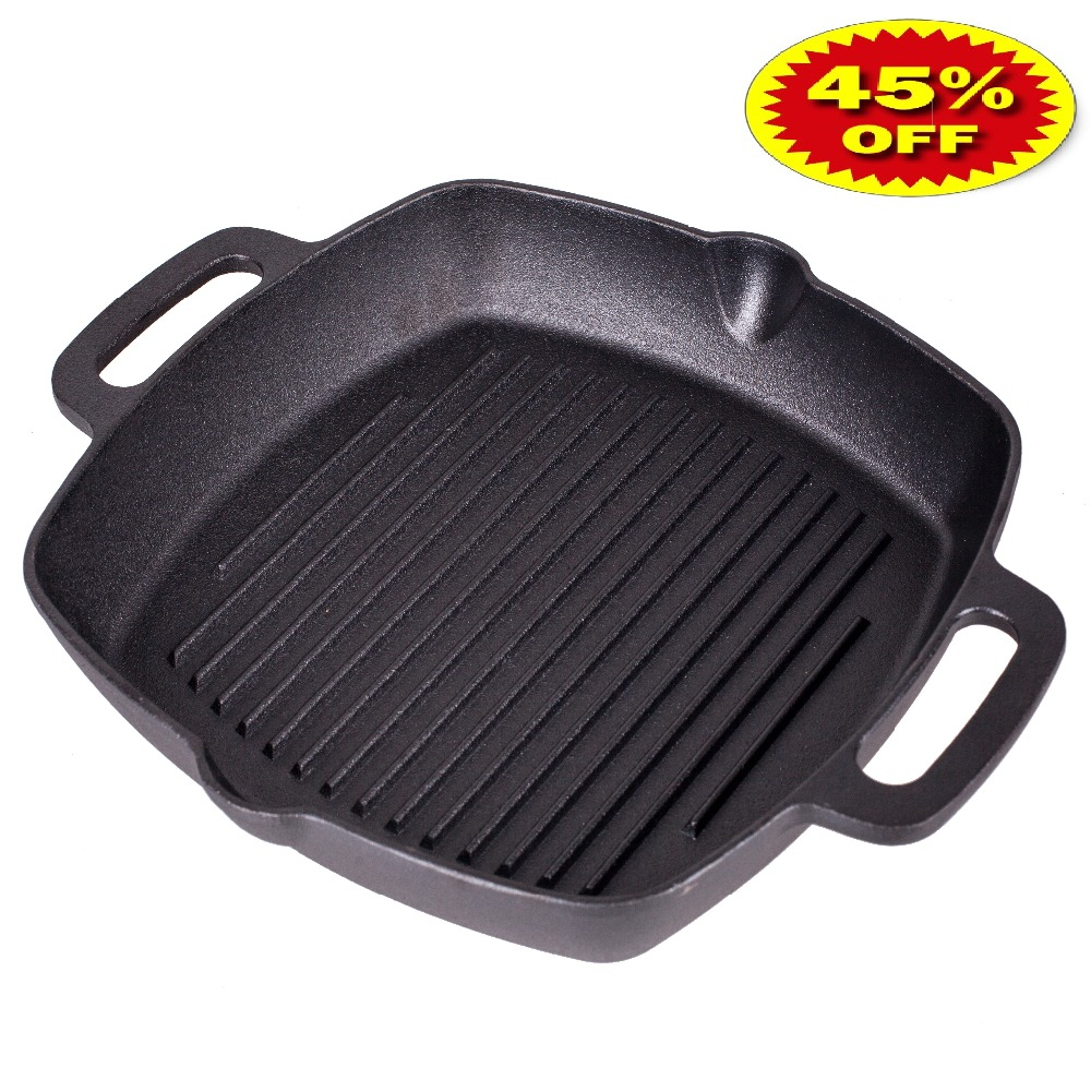 VETTA GRILL GUSSEISEN Pfanne Non-stick bratpfanne grill gusseisen 808-004