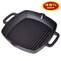 VETTA GRILL CAST IRON Skillet Non stick frying pan grill cast iron 808 004