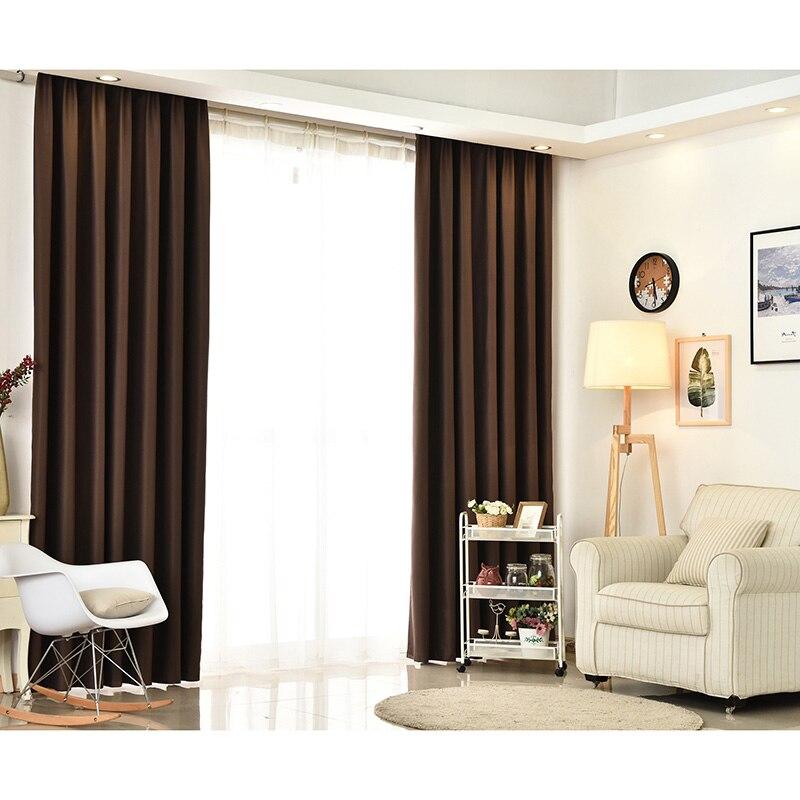 urijk color blackout cortinas cortinas para la sala de color slido moderna para el dormitorio