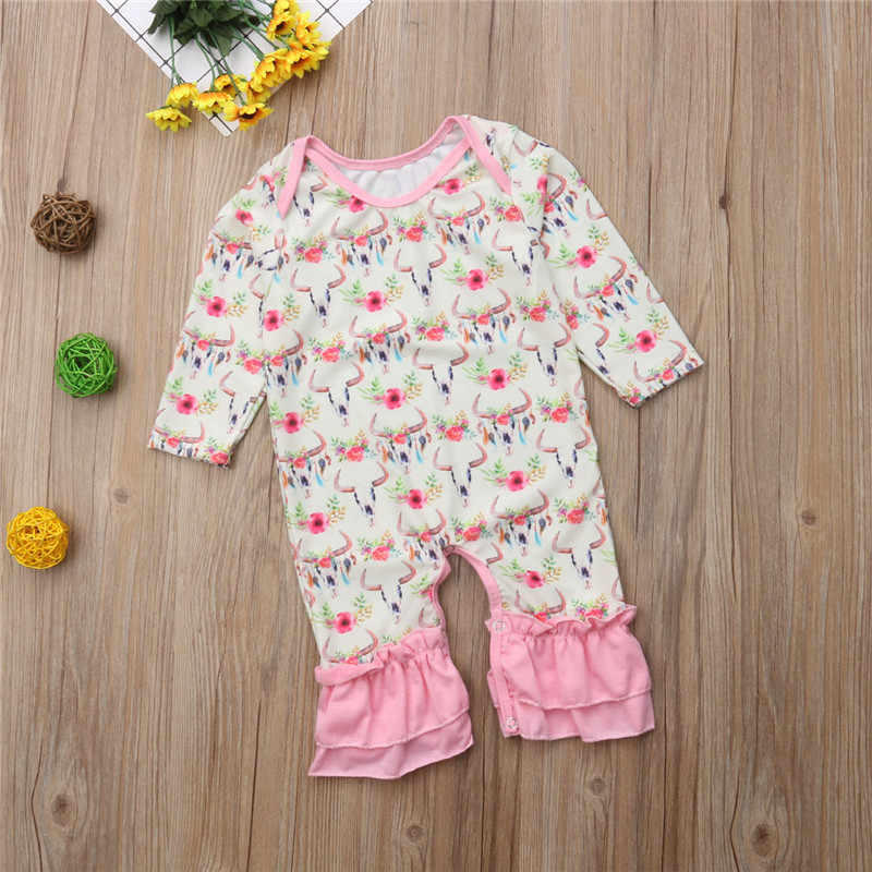 CANIS/комбинезон для новорожденных девочек; зимняя одежда с длинными рукавами и рисунком оленя; комбинезон для девочек; комбинезон; одежда для малышей; комбинезоны