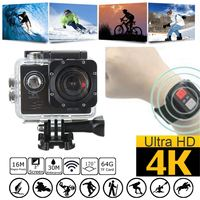 4K WiFi 2 Inch SJ8000R 1080P Full Sport DV Action Camera 170 Degree Wide Angle Underwater