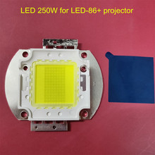 Led para substituição para poner saund, led 250w, 86 + led86 led 96 + led96, projetor original chip de brigelux 39 44v 45mil