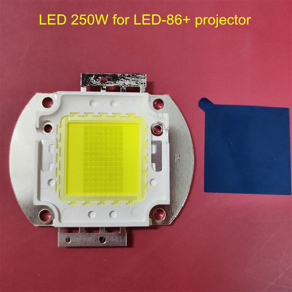 Replacement LED 250W For Poner Saund LED-86+ LED86 LED-96+ LED96 Diy Projector Original Bridgelux Chip 39-44V 45mil