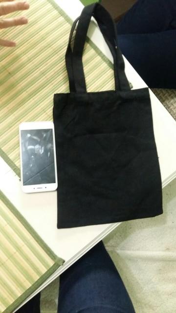 High-Quality Women Men Handbags Canvas Tote bags Reusable Cotton grocery Shopping Bag Webshop Eco Foldable Shopping Cart photo review