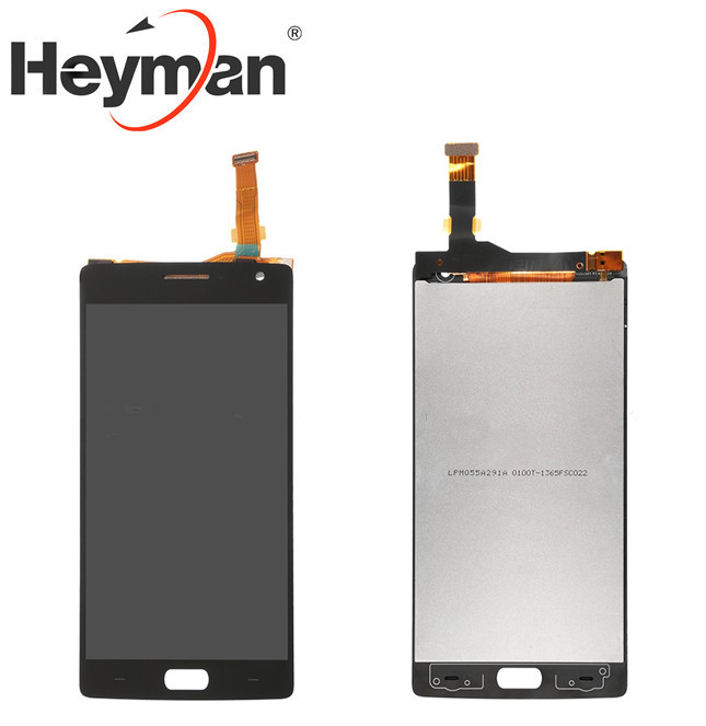 Heyman LCD <font><b>Screen</b></font> and Digitizer Assembly <font><b>Replacement</b></font> for <font><b>OnePlus</b></font> Two <font><b>2</b></font> A2001 image